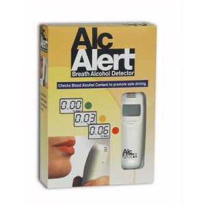AlcAlert BT5500 retail packaging