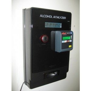AlcoScan AL4000 Wireless Credit Card Breathalyzer