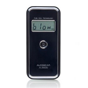 AlcoMate AccuCell AL9000 Fuel Cell Breathalyzer