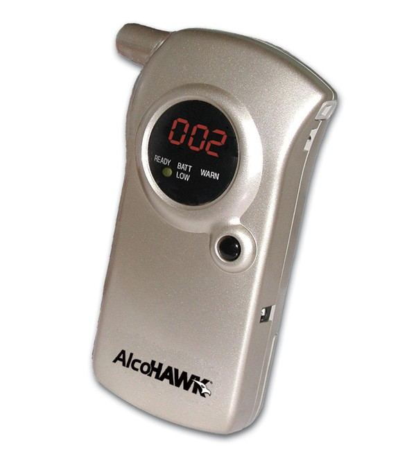 Portable Breathalyzer Test >> AlcoHawk ABI Breathalyzer