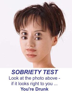 funny sobriety test