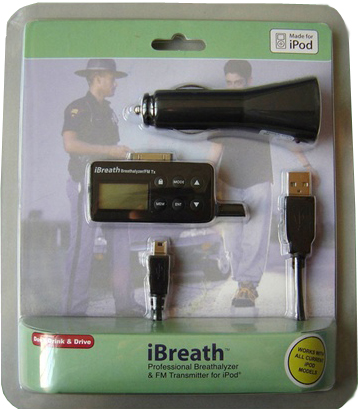 ibreath breathalyzer contents